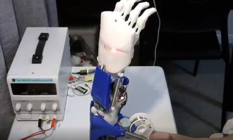 基于樹莓派和Arduino的3D打印假肢diy-支持CV、BCI以及EMG