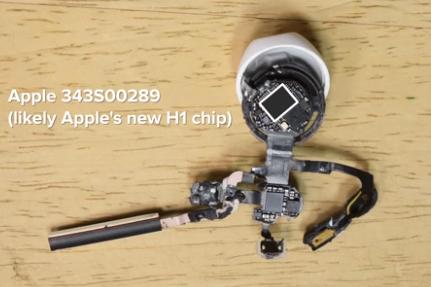 苹果Airpods 2代拆解视频:全方位了解无线耳机结构、硬件