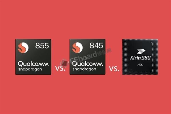 一张图看懂骁龙855真实性能:骁龙845 PK 麒麟980