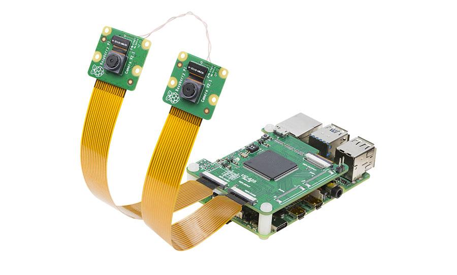 為樹莓派4B構建完全同步的雙攝像頭方案