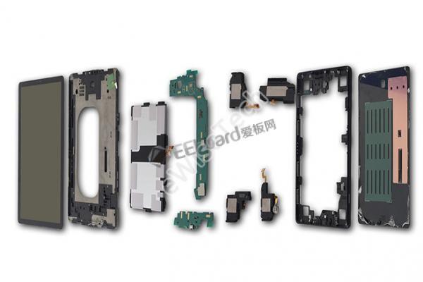 Galaxy Tab S4拆解:内部结构究竟怎样?