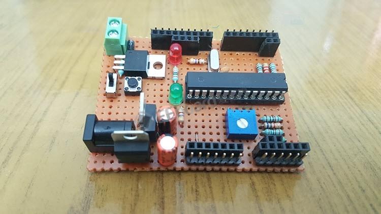 彪悍的人生不需要解释,纯手工制作Arduino开发板