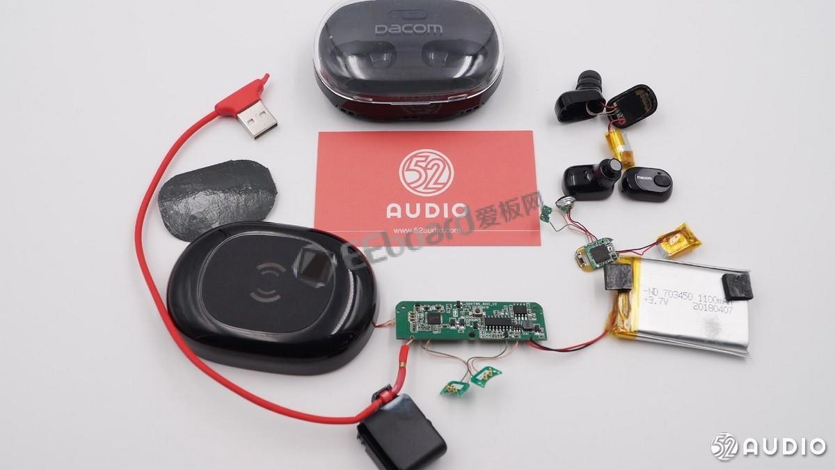 Dacom K6H拆解:看看这款无线充电的真正TWS真无线耳机是如何炼成的