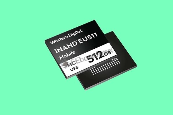 西數發布iNAND EU511閃存芯片:96層3D NAND,UFS 3.0