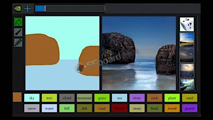 [视频]NVIDIA的GauGAN:没有绘画天赋的人也能创建壁纸级照片