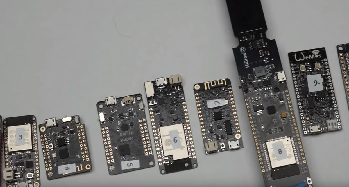10款ESP32开发板对比:看看你用的是哪种