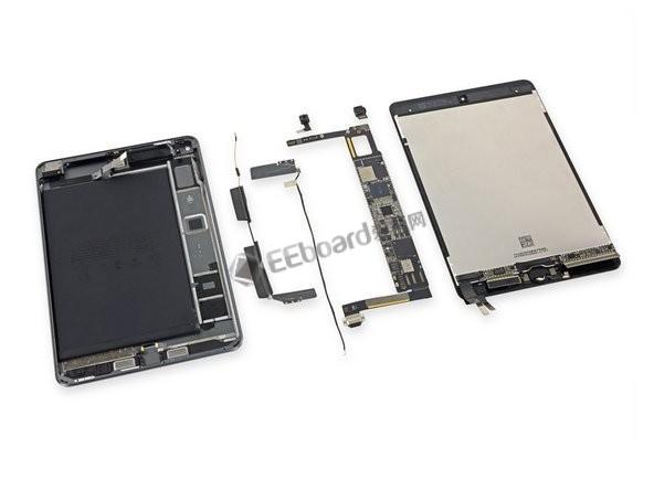 【视频】iPad Mini 5 拆解:不是缩小的iPad,也不是微型的iPad Air