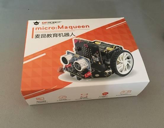 在玩乐中学编程——DFRobot Maqueen麦昆机器人小车评测