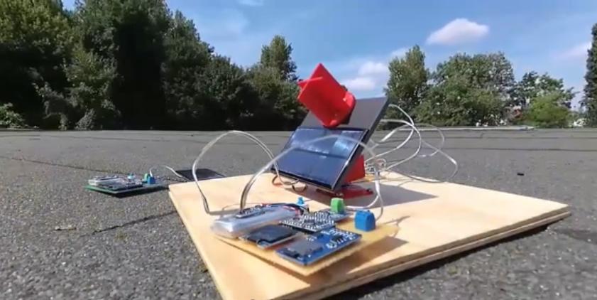 国外大神用Arduino自制了一个太阳能系统