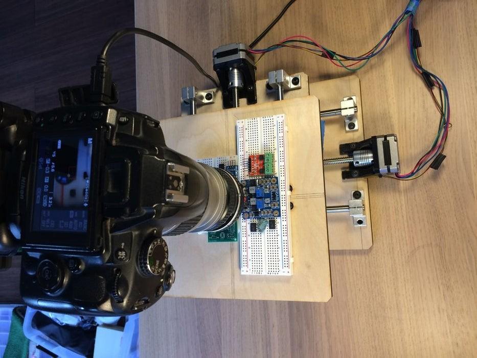 DIY一个千亿像素的显微?#25285;?#21482;需要Arduino即可