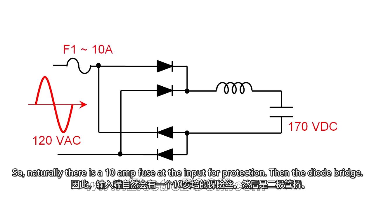 【项目教程】自制全桥整流器(内含电路图)