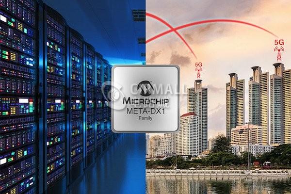 面对5G,Microchip发布全新1.2Tb以太网PHY