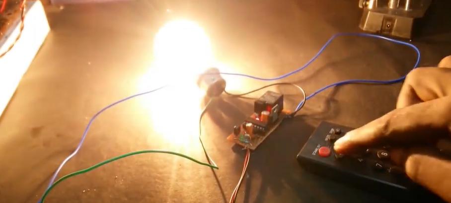【项目实录】万能电视遥控器,可以控制风扇和灯(附电路图)