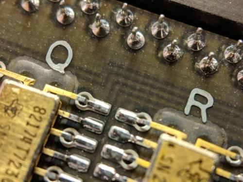 美国阿波罗11号上的电路板曝光,工艺精湛