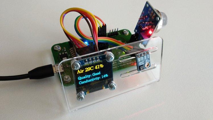 开源:基于ESP8266的气体探测电路方案设计