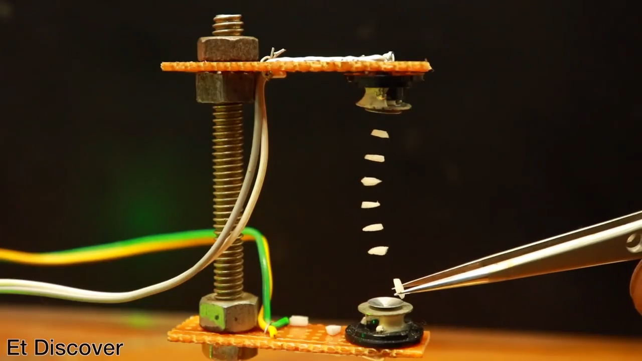 使用超声波传感器,让物体在你的指尖漂浮(附电路图及源码)