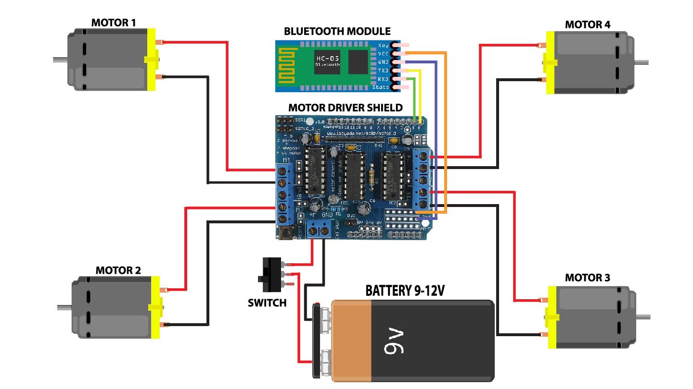 【项目实录】DIY一个Arduino蓝牙控制小车