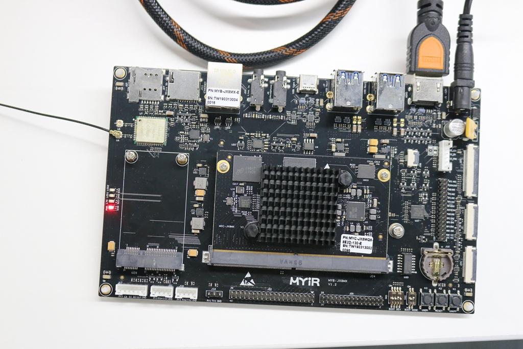 高性能人机交互解决方案——MYD-JX8MX开发板评测