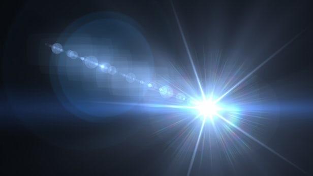 光束具有轨道角动量,沿着涡旋状传播