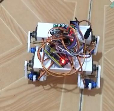 [项目演示]制作一个四足机器人要迭代几次?