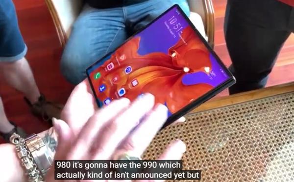 麒麟990对比麒麟980:华为新Mate X体验爆表