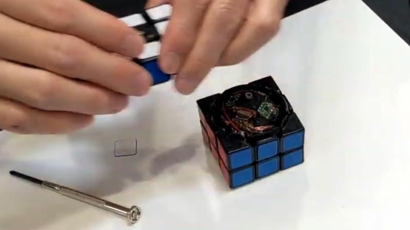电子魔方拆解:可自我还原的魔方电路设计方案大公开