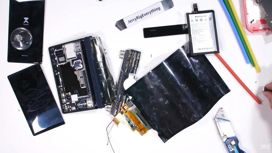 首款折叠屏手机拆解:一探究竟神秘的屏幕闭合原理