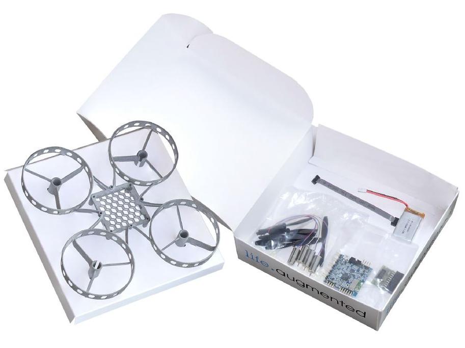 意法半导体STEVAL-DRONE01无人机开发套件评测:轻松DIY一个迷你无人机