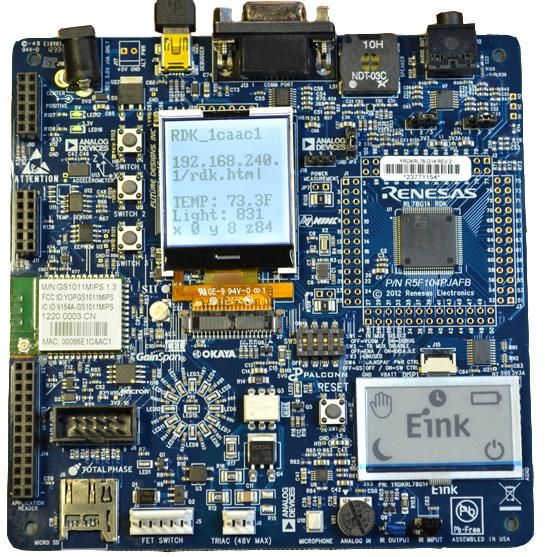 快速致力于智能家居研發-瑞薩YRDKRL78G13開發套件評測