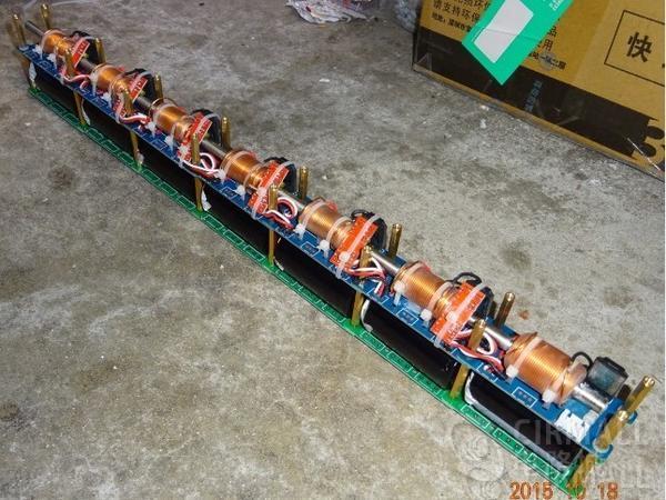 电路城每周方案精选(8.5-8.11):威力钢猛的14级电磁炮电路图;无线充电小车全套方案