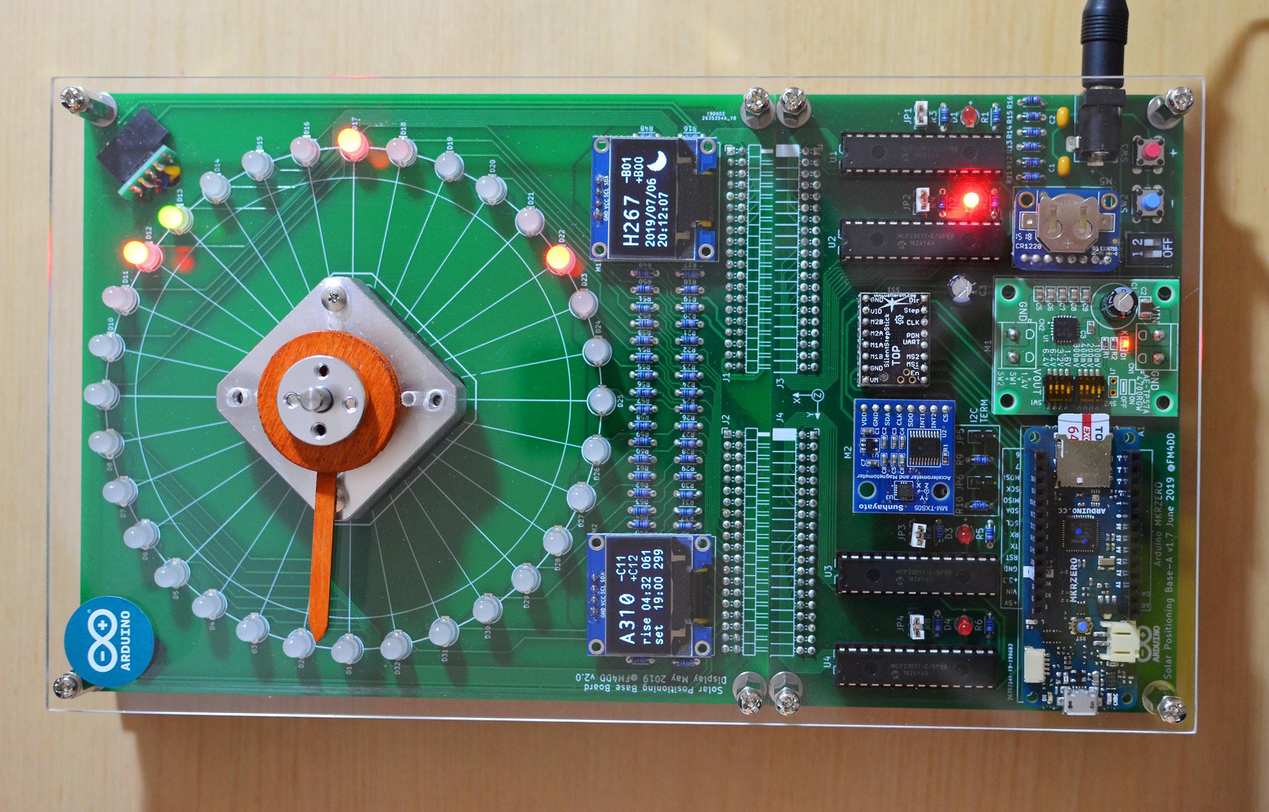 SunTracker2 第3版,通过调整太阳在天空中的路径来优化太阳系统的能量输出的学习平台