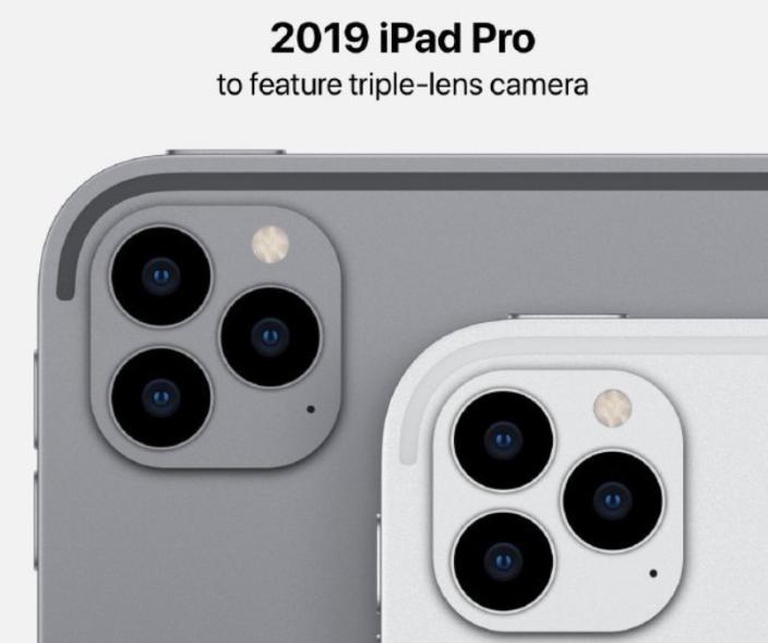 浴霸摄像头引领风骚:苹果iPad Pro也不能幸免