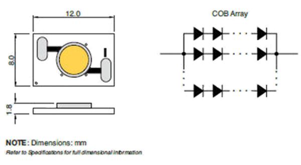 COB LED电路设计方案分析:只为更加高效的LED照明