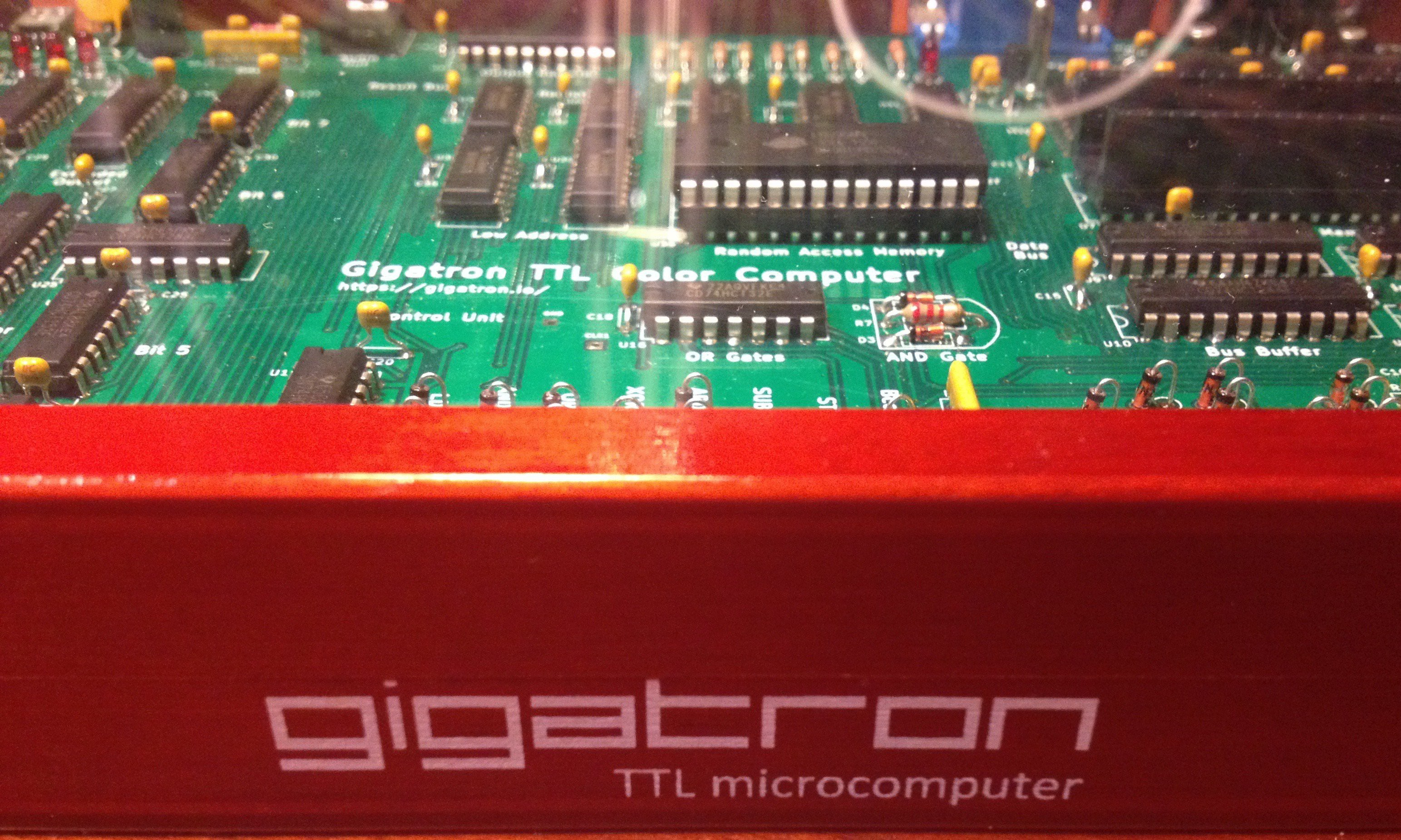 Gigatron TTL微型计算机