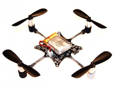 构建一个最小系统的无人机电路方案:至少需要几个传感器?