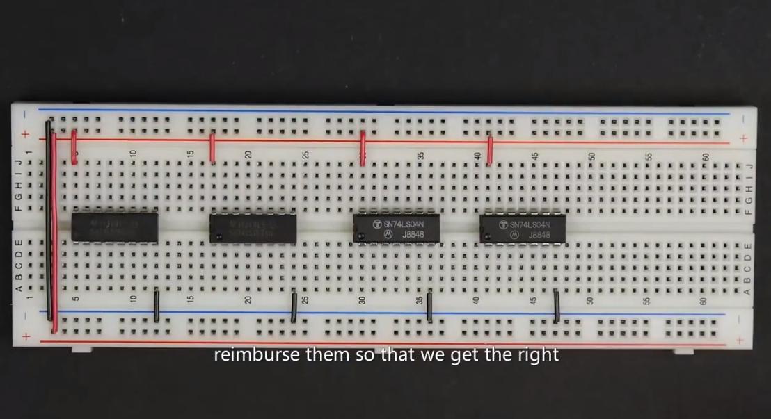 [系列教程]國外大神帶你用面包板制作8-bit計算機(隨機存取存儲器RAM模塊2)