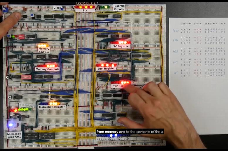 [系列教程]国外大神带你用面包板制作8-bit计算机(向CPU添加更多机器语言指令)