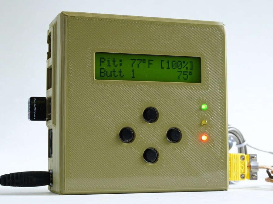 HeaterMeter:炎炎夏日,使用樹莓派DIY一個自動控溫的燒烤架