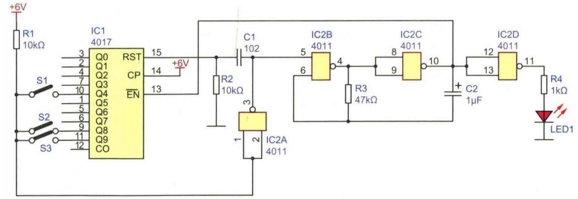 脉冲选择电路该如何设计