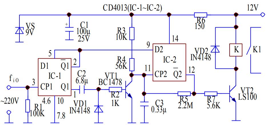 保證電源可靠,設計一個電源頻率檢測的電路方案