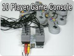 高能!全程手焊,DIY 一个可以支持10人玩家的游戏控制器