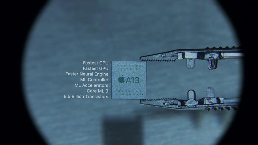 苹果iPhone 11之最强处理器A13解析