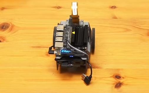 基于机器学习的开源JetBot人工智能机器人评测