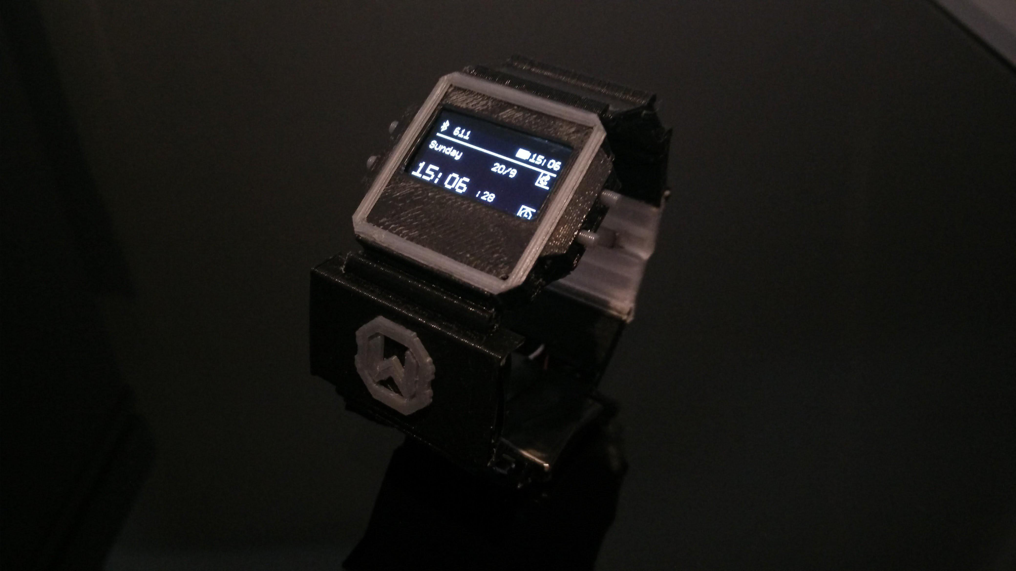 Watchduino2,廉價的開源BLE智能手表,與Arduino工具兼容