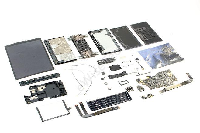 完全没有秘密可言了-量产折叠屏手机拆解