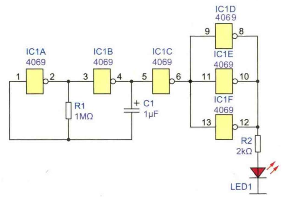 LED闪光灯电路方案设计