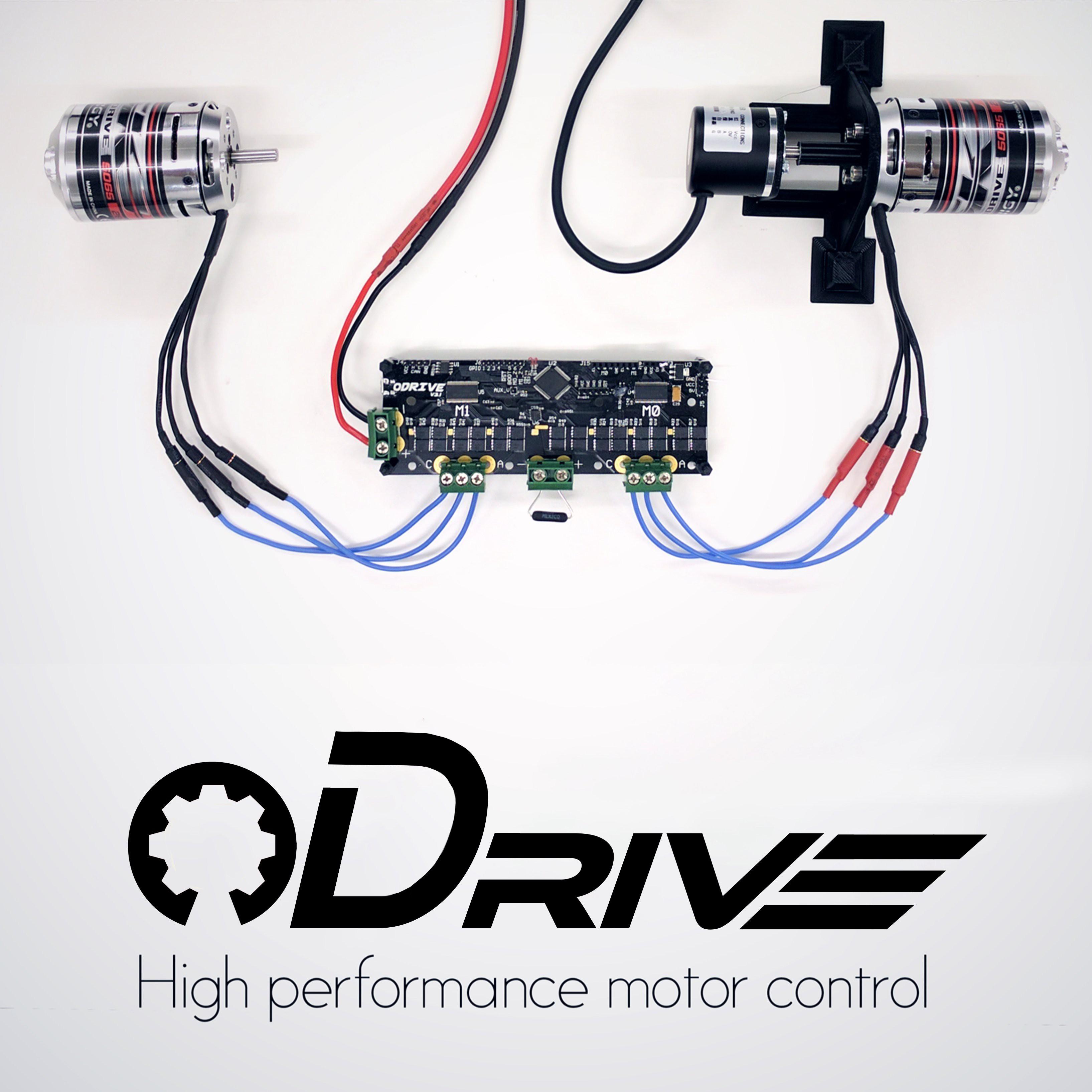 ODrive - 高性能电机控制