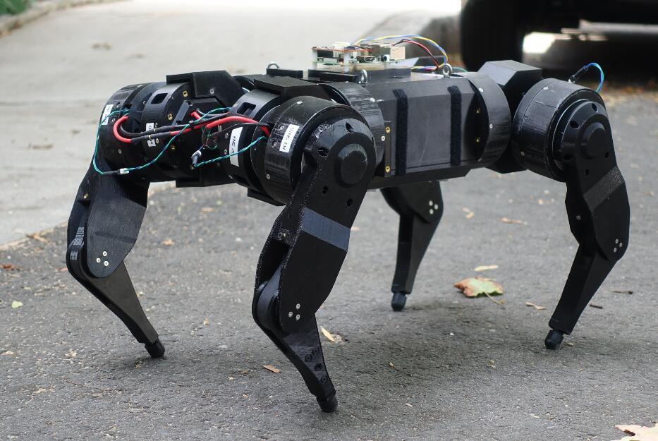 人人都可以diy的開源動態四足機器人mjbots quad A0