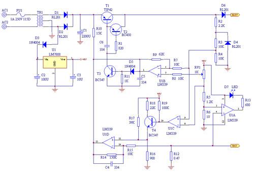 12v充電器原理圖top7排行,有你了解的沒?