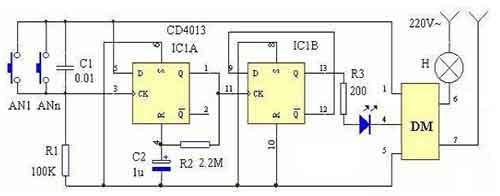 雙穩態開關電路方案設計